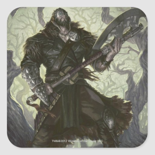 Magic: The Gathering - Garruk Relentless Sticker