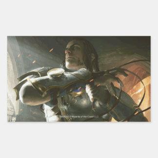 Magic: The Gathering - Gideon's Sural Rectangular Sticker