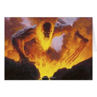Magic: The Gathering - Inferno Titan Card
