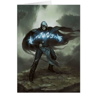Magic: The Gathering - Jace, the Mind Sculptor Greeting Card