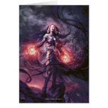 Magic: The Gathering - Liliana Vess Greeting Card