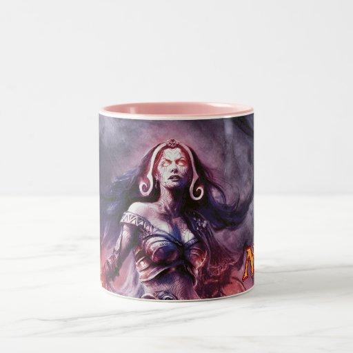 Magic: The Gathering - Liliana Vess Two-Tone Coffee Mug