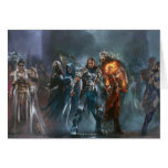 Magic: The Gathering - Planeswalker Tableau Greeting Card