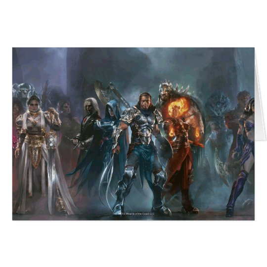 Magic: The Gathering - Planeswalker Tableau Card