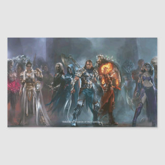 Magic: The Gathering - Planeswalker Tableau Rectangular Sticker