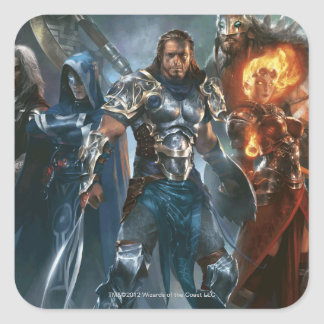 Magic: The Gathering - Planeswalkers Square Sticker