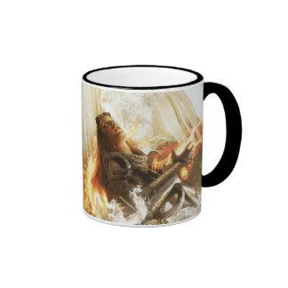 Magic: The Gathering - Purifying Fire (Chandra) Ringer Coffee Mug