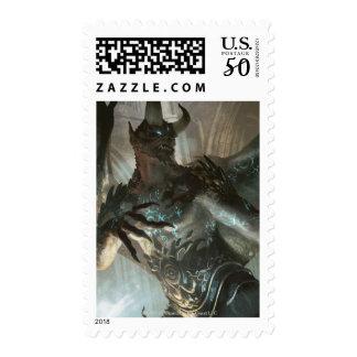 Magic: The Gathering - Rune-Scarred Demon Postage