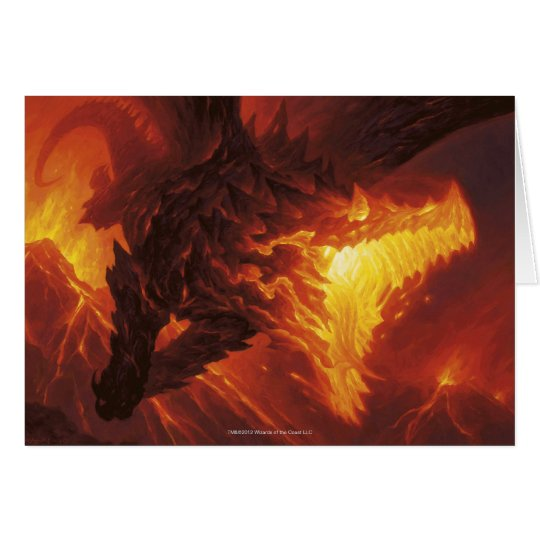 Magic: The Gathering - Volcanic Dragon Card