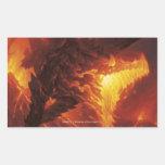 Magic: The Gathering - Volcanic Dragon Rectangular Sticker