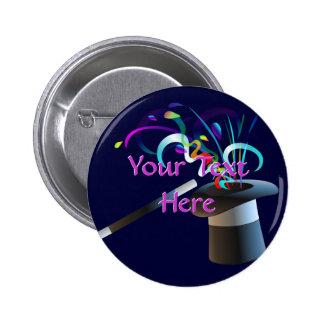 Magic Top Hat Button