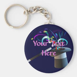 Magic Top Hat Keychain