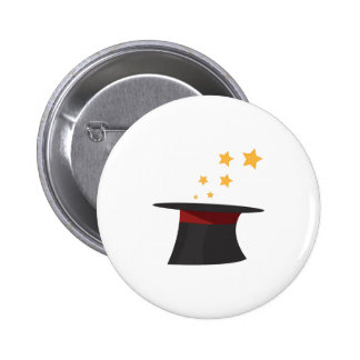 Magic Tophat 2 Inch Round Button