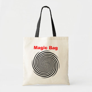 Magic Tote Bag with Hypnosis Spiral