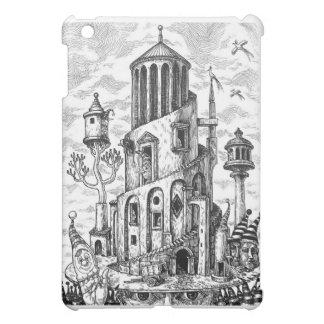 Magic tower on hat iPad mini case