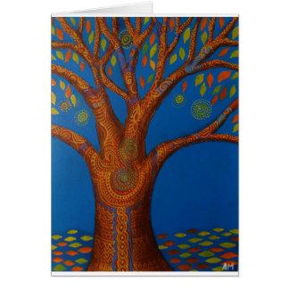 Magic Tree Card