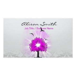 Magic tree of love tarjetas de visita