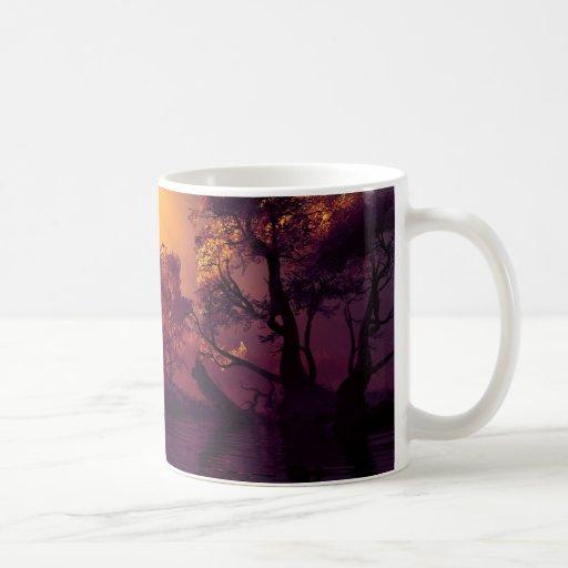 Magic trees classic white coffee mug