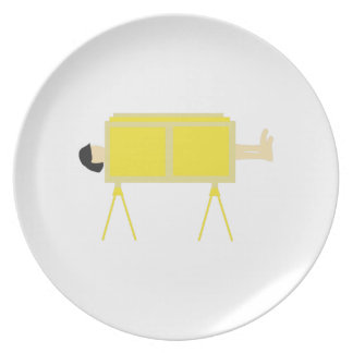 Magic Trick Melamine Plate