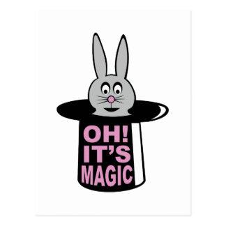 Magic Trick Postcard