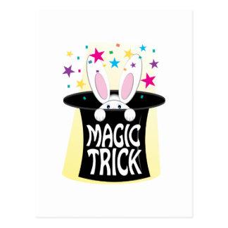 Magic Trick Post Cards