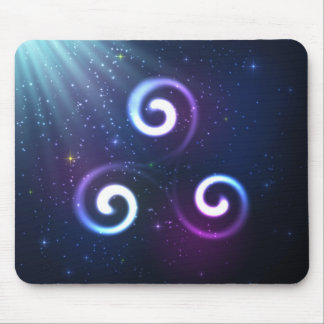 Magic triskel mouse pad