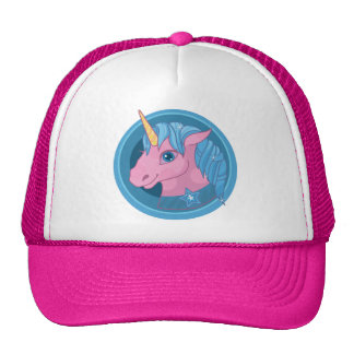 Magic Unicorn cartoon baby illustration Cute horse Trucker Hat