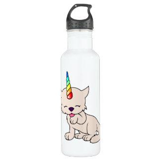 Magic Unicorn Cat = Kittycorn Stainless Steel Water Bottle
