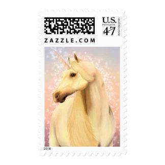 Magic Unicorn Postage Stamp