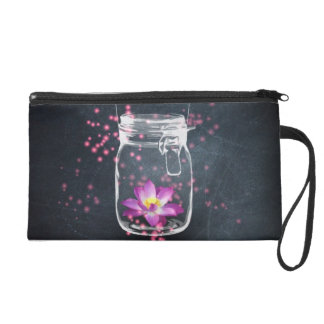 Magic unit of capacitance with loto to flower wristlet purse