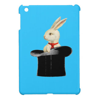 magic vintage top hat rabbit iPad mini cases
