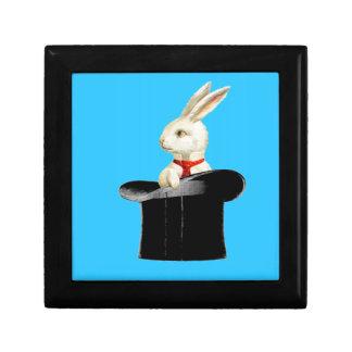 magic vintage top hat rabbit keepsake box