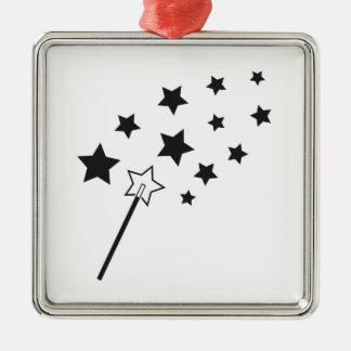 Magic Wand Metal Ornament