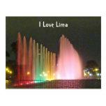 Magic Water Fountains-Circuito del Magico del Agua Postcards