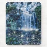 Magic waterfall mouse pad