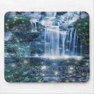 Magic waterfall mousepad