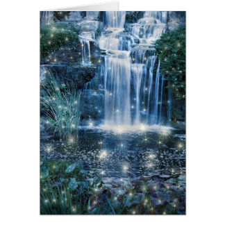 Magic Waterfall Note Card