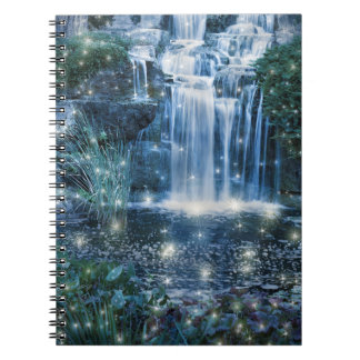 Magic Waterfall Notebook