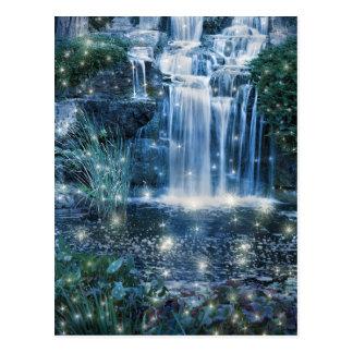 Magic Waterfall Postcard