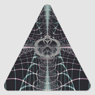 Magic Web Triangle Sticker