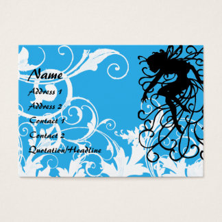 Magic White Garden -  Customized Business Card
