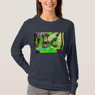 Magic Wishing Well Butterflies Forest T-Shirt