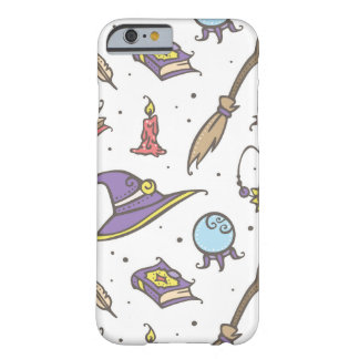 Magic Witch Halloween Pattern Barely There iPhone 6 Case