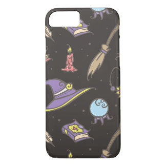 Magic Witch Halloween Pattern iPhone 8/7 Case