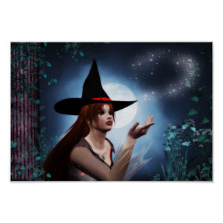 Magic Witch Poster