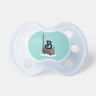 Magic Wooden Boat & Clouds Pacifiers