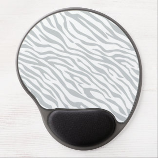 Magic Zebra Stripes Click to Customize Grey Color Gel Mouse Pad