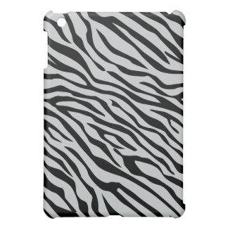 Magic Zebra Stripes Click to Customize Grey Color iPad Mini Covers