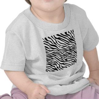 Magic Zebra Stripes Click to Customize Grey Color Tee Shirts