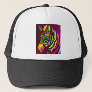 Magic Zebra Trucker Hat